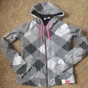 Roxy Sherpa lined tech hoodie